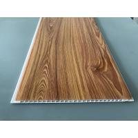 Quality Wood Transfer Printing 250mm Decorative PVC Panels Waterproof Ceiling for sale