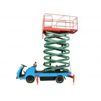 Quality Tower Vehicle Mounted Work Platforms Electric Motor Driven Hydraulic Lift Platform for sale