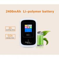 "Buy Portable 4G MIFI Router with sim card slot,1.44"" LCD Screen at wholesale prices"