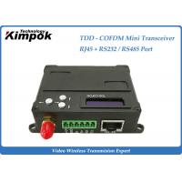 Quality HDMI TDD - COFDM HD Wireless Transmitter , Wireless IP Transmitter with RJ -45 Interface for sale