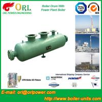 Quality Water Heat Boiler Mud Drum / Boiler Drum Once Through For Power Station for sale