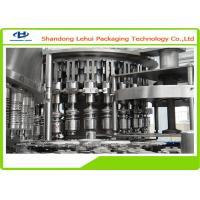Quality Three In One Water Bottle Filling Machine , High Viscosity Liquid Filling Machine for sale