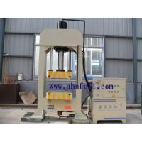 Quality H frame hydraulic press for wheel barrow tray,metal container for sale
