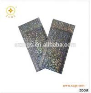 Quality Holographic shiny metallic foil bubble cushioned decorative mailer envelopes for sale