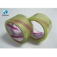 Quality Super Clear Crystal Bopp Packing Tape with custom LOGO Printing for sale