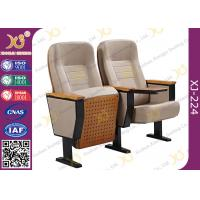 Quality Fixing Leg Damper Return Auditorium Auditorium Chairs , Movie Theatre Chairs for sale