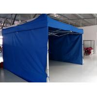 Quality Logo Printed 3m X 4.5m Pop Up Canopy Tent With Sidewalls , Pop Up Market Gazebo Hire for sale