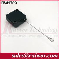 Quality Steel Cable RetractorWith Loop Cable End , ABS Plastic Security Cables For Retail for sale