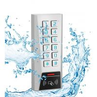 China 125kHz Proximity Card Door Access Control Keypad Zinc Material IP68 Waterproof on sale