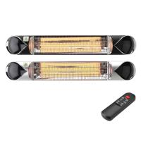 China 1500/2000/2500W Carbon Fibre IP55 Electric Patio Outdoor waterproof  Heater with Remote control on sale
