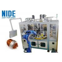Buy cheap Air conditioner automatic motor stator coil insertion winding machine , 4 working station from wholesalers