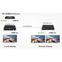 Quality 4K 60Hz HDMI2.0 HDBaseT Extender and Dual screen sync output for sale
