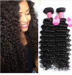 Quality Long Lasting Brazilian Deep Wave Human Hair , 8A Brazilian Virgin Hair for sale