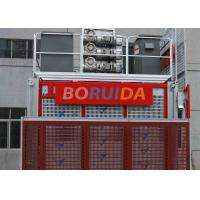 Quality Floor / Sliding Door Construction Material Lifting Hoist Single Or Double Cages for sale