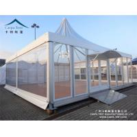 Quality UV Resistant Outdoor Big Event Pagoda Canopy Tent With Glass Wall for sale