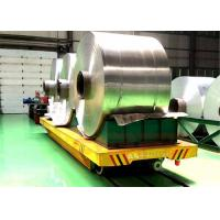 Quality 30t Automatic paper roller handler rail transport wagon paper industry for sale