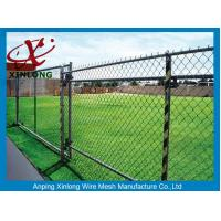 Quality High Anti Corrosive Dark Green Chain Link Fence for Tennis Ground for sale