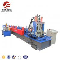 Quality Cold Steel Strip C Purlin Roll Forming Machine With Auto Control System for sale
