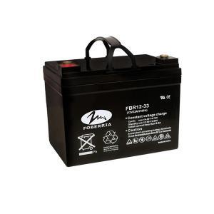 Quality Golf Carts Sealed Vrla 12v 33ah UPS Lead Acid Battery For Solar System for sale