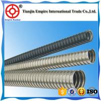 Quality stainless steel corrugated/convoluted flexible metal hose Heat resistant materials stainless steel braided hose flexible for sale