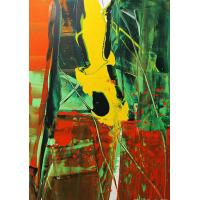 Buy cheap crystal flower painting modern art painting wall decor from wholesalers