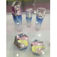 Buy 15ML 30ML 50ML hexagonal plastic cosemtic lotion pump bottle at wholesale prices