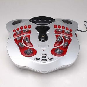 Quality shiatsu foot massager, kneading foot massager, with electrode pads, EMS waist belt for sale