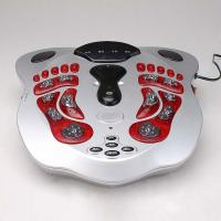 Quality shiatsu foot massager, kneading foot massager, with electrode pads, EMS waist belt for sale