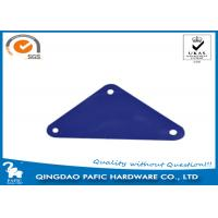 Quality Swing Accessory Steel Metal Brackets For Wood Posts Triangular Shape for sale
