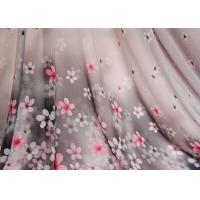Quality Funky Curtain Custom Printed Fabrics Floral Apparel Fabric for sale