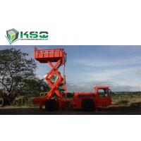 Quality Underground Service Vechicles 1 Ton Scissor Lift Truck for Underground Mining or Tunneling Project for sale