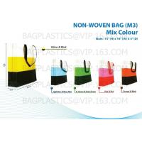 Buy NON WOVEN SHOPPING bags, nonwoven bags, woven bags, big bag, fibc, jumbo bags,tex at wholesale prices