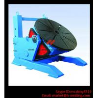 Quality Height Adjusting Automated Pipe Welding Positioner Turntable For Vessel Loading And Machining for sale