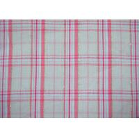 Quality Luxury Shiny Gold Thread Yarn Dyed Plaid Fabric Bright Colored Printing for sale