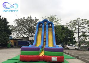 Quality Newleap Inflatable Slides Combo Water Pool inflatable water slide adult For sale for sale