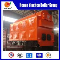 Quality Wood Or Coal Fired Steam Boiler , Moving Grate Boiler 0.7 -1.25 Mpa Pressure for sale
