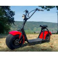 Quality Adult 1 Person Recret Red Electric Moped Bike With 1000W Engine for sale