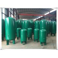 Quality Stable Pressure Air Compressor Receiver Tank , Air Compressor Vertical Storage Tank for sale