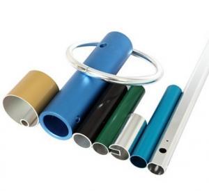 Buy Powder Coated Anodized Aluminum Extruded Tubing / Aluminum Round Tubing With CNC Machining at wholesale prices