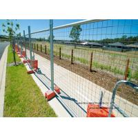 Quality Australia Standard Temporary Construction Fence Galvanized Welded Wire Mesh For Festivals for sale