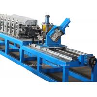 Quality False Ceiling Galvanized Steel Stud Roll Forming Machine Cr12 Steel Roller Material for sale