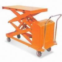 Quality 1,700mm Electric Scissor Lift with 20-inch Descend Speed and 1,000kg Loading Capacity for sale