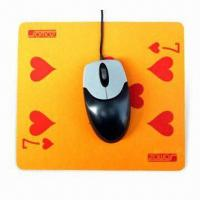 Quality Mouse Pad with Silkscreen Printing, Made of EVA and PVC, Suitable for Promotional Purposes for sale