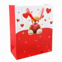 Buy cheap Hand Bag with Various Paper and PVC Material, Customized Orders are Welcome from wholesalers