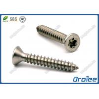 Quality Stainless Steel 410 Sheet Metal Screws Torx Flat Head Case Hardened for sale