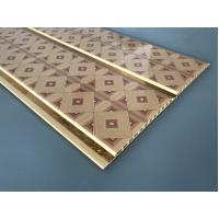 Buy 10 Inch Water Resistant Bathroom Wall Panels With PVC Resin Material at wholesale prices