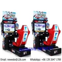 Buy Amusement Equipment Outrun Coin Operated Video Arcade Machine Driving Simulator Car Racing Games at wholesale prices