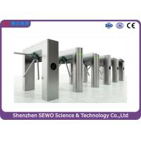 Quality Reliable Access Control Tripod Turnstiles  Intelligent Automatic Turnstile for sale