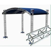 Quality Small Stage Lighting Truss , Spigot Truss , Concert Stage Roof Truss for sale