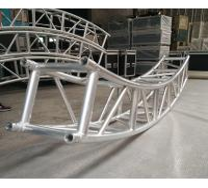 Buy 400*400mm Aluminum Alloy 6082-T6 Square Spigot Arch Lighting Truss / Aluminum Roof Truss at wholesale prices